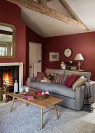 Terracotta Living Room Marsala Living Room Living Room With Beams Terracotta Living