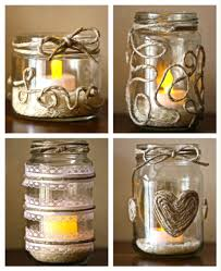 Retro-Chic Twine and Glass Candle Holders  Source: What About This