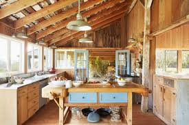 8 exposed wood kitchen