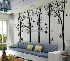 Wall Decor Stickers For Living Room Wall Decor Stickers Cheap White Flower Vine Living Room Wall