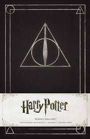 harry potter ly hallows hardcover ruled journal 9781608875634 hr