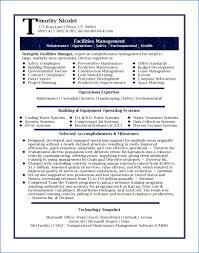 Sample Resume For Facility Maintenance Director Save 49 Facilities