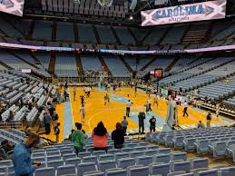 Dean Smith Center Section 133 Rateyourseats Com