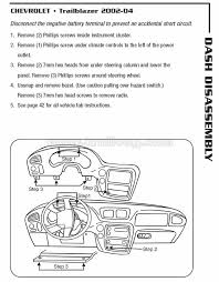 dash faceplate removal diagrams chevy trailblazer trailblazer dash faceplate removal diagrams chevy trailblazer trailblazer ss and gmc envoy forum to fix the trailblazer chevy chevy trailblazer and