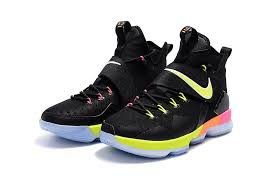 lebron shoes pink and black. cheap lebron 14 for kids green pink black shoes and 5