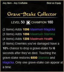 stake Guide Grave – Build Collector Game Eso Update Solitary Sets xYwF61OB