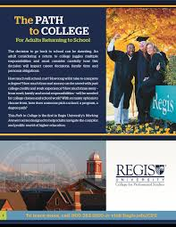 Adults return to college