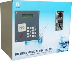 Medical Vending Machine Extraordinary Smart Card And Multi Coin Water ATM Normal And Cold At Rs 48