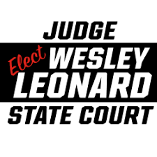 Wesley Leonard – for Judge of Troup County State Court