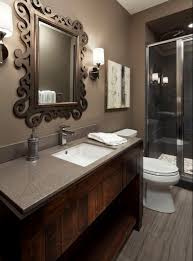 gray and brown bathroom color ideas. Small Brown Bathroom Color Ideas Of Contemporary Nice Design Gray And 1 Hirshfields Young Colt 0198 Is The Wall Paint Hendel Homes 3 Asbienestar.co
