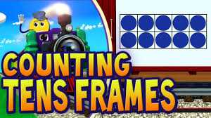 tens frames train count the dots in each ten frame pictrain you