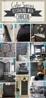 Color Series Decorating With Charcoal Muurverf Home Decor Grey