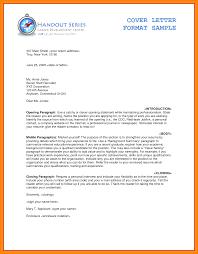Resume Fabulous Resume Cover Letter Format Resume Cover Letter