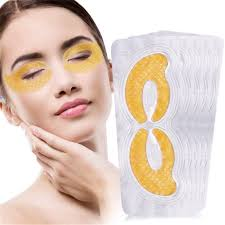 2pairs collagen bamboo charcoal eye mask anti dark circles wrinkle full coverage eye patches skin care