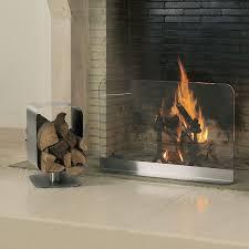 andre gilli fireplace log holder cube