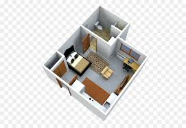 3d floor plan studio apartment house 3d home