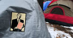 Occupy protests: Month 5 - CBS News
