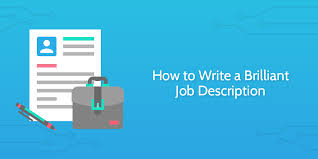 Him Chart Analyst Job Description How To Write A Brilliant Job Description 2 Templates 12