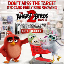 Angry Birds - Target REDcard holders, gather your flock...