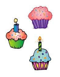 Best Birthday Cupcake Clipart 20729 Clipartioncom