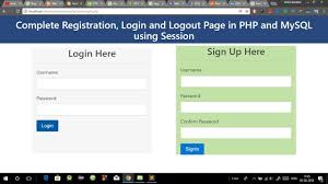 Creating A Website Design Templating System Using Php Registration And Login Form In Php And Mysql In Hindi Login System Using Php With Mysql In Hindi