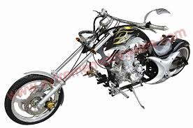 dragon 200cc motorcycle custom chopper 3 4