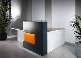 hi tech office products. ID: HT RT18, Beautiful Reception Desk Hi Tech Office Products
