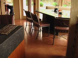 Recycled Leather Floor Tiles Why Concrete Floors Rock Hgtv