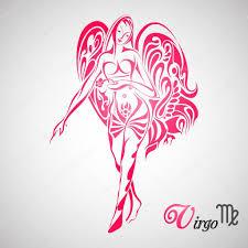 татуировки созвездие девы знак зодиака девы векторное изображение