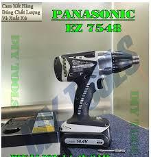 Máy Vặn Vít Nội Địa Nhật Panasonic EZ7548, 14.4v 3AH, Nội Thất Như Mới,  Ngoại