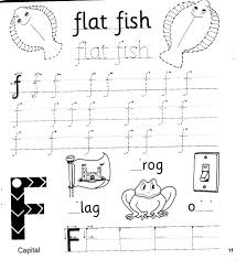 Each sheet provides activities for letter sound learning, letter formation, blending and segmenting. Jolly Phonics Workbook 3 G O U L F B