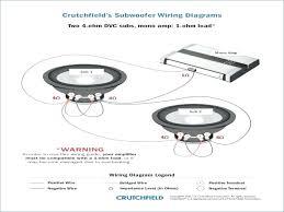 kicker 1 ohm wiring diagram manual diagrams installations co single 2 ohm wiring diagram data dvc sub