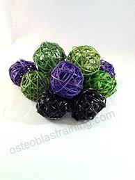 Decorative Vase Filler Balls Gorgeous Decorative Vase Filler Balls 32 Packages Handmade Spheres Of 32 Purple