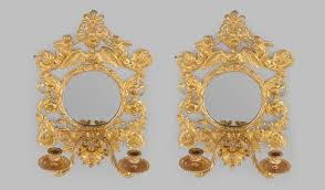 antique rococo style wall lights mayfair gallery