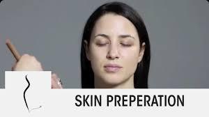 skin preparation for makeup application model makeup video tutorial