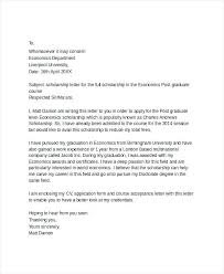 Letter Of Applications Examples Cover Letter Application Scholarship Sample Lezincdc Com