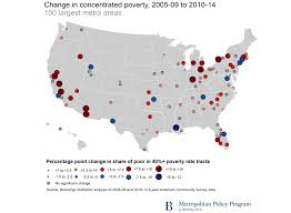 Texas Poverty Level Chart U S Concentrated Poverty In The Wake Of The Great Recession