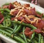 bacon almond green beans