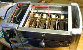 dualit toaster element replacement how to pictures anyway on the disassembly you ll note that the elements are held in place by a metal plate which engages the slot in the edge of each end