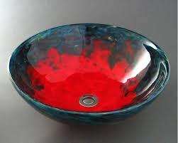 caliente glass vessel sink
