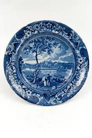 Historical Staffordshire Pottery American Scenes
