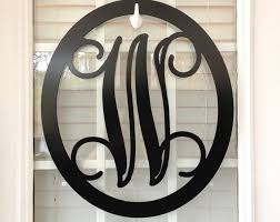 initial wreaths for front doorMake it Personal at House Sensations Art Personalized gifts