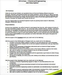 Chemical Engineer Job Description Stunning Chemical Engineer Job Description Sample 48 Examples In Word PDF