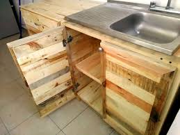 Pallet Kitchen Furniture Kitchen Wholly Made From Recycled Pallets 99 Pallets