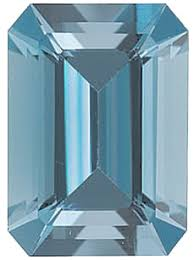 Aquamarine Clarity Chart Grade Aaa Emerald Aquamarines Loose Emerald Cut Aquamarine