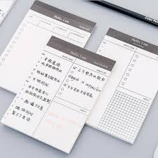 Daily Checklist Planner Do List Plan Notes Pad Daily Checklist Schedule Message Notepad Tear