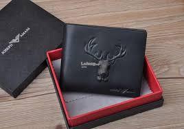 joseph amani summer 2018 deer short leather wallet