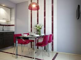 Apartment Dining Decoration Simple Dining Room Ideas For Small Spaces  Attractive Round Pendant Lamp Modern Inspiring Combined Peachy