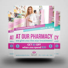 Editable Flyer Template Printable Pharmacy Flyer Flyer Template Flyer Editable Photoshop Template Instant Download