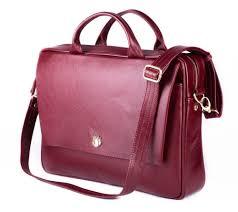 genuine leather woman s laptop bag fl14 rimini burdy to zoom
